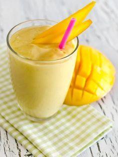 Crème de mangue facile et légère - Recette de cuisine Marmiton : une recette