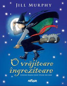 O vrăjitoare îngrozitoare - Jill Murphy - Editura Arthur Jill Murphy, Netflix, Books, Movie Posters, Drink, Libros, Beverage, Book, Film Poster