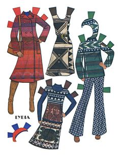 Paper Dolls~Lydia - Bonnie Jones - Picasa Web Albums