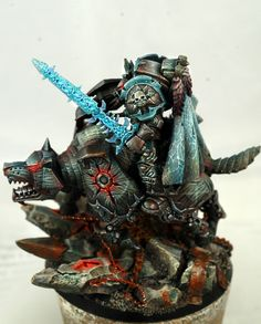 Skyrar's Dark Wolves Chaos Lord