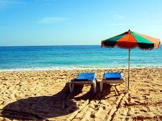 Las Grandes Playas di Corralejo al mattino