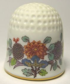 Handpainted Meissen Thimble Limited Edition Floral | eBay /  Mar 23, 2014 / US $177.50