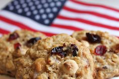 Americana Oatmeal Cookie   Created by Diane