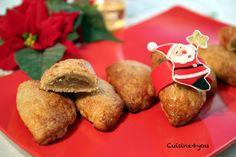 Pasteles de boniato. Receta de dulce típico navideño de la Comunidad Valenciana elaborado con confitura de boniato.