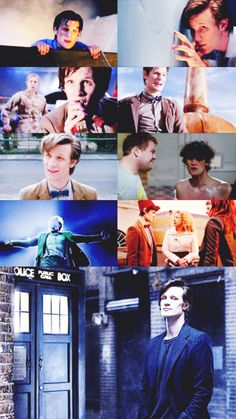 Eleven :-) I love the middle picture in the right column haha X-D his hair!! Looks about like mine... :-P