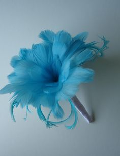 Feather bouquet, but I will be adding a little something more because this is just too plain for someone like myself!