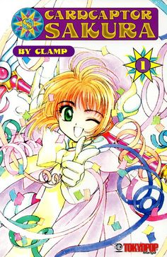 Cardcaptor Sakura. Japanese anime book English by RetroBooksUK