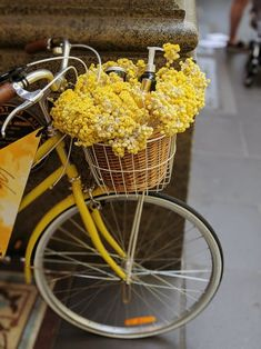 One of many great free stock photos from Pexels. This photo is about vintage bicycle, wheel, yellow flowers Throw In The Towel, Life Goes On, Back On Track, Design Graphique, Snapseed, Vintage Bicycles, Mellow Yellow, Home Decor Items, Yellow Flowers