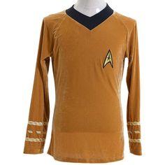 Halloween Costume Star Trek TOS The Original Series Kirk Spock Shirt Uniform…