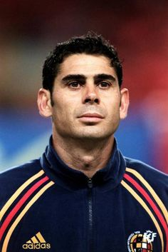 Fernando Hierro Pictures and Photos Stock Pictures, Stock Photos, Football Photos, Royalty Free Photos, Image, Spain, Iron