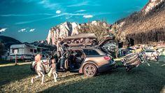 PRZEPASTNY ADVENTURE 480 Idealny towarzysz długodystansowych rodzinnych podróży. Ostatni dwutygodniowy test boxa dachowego odbył się w malowniczych terenach 4 alpejskich krajów.Przepastny Adventure pomieścił całe bogactwo sprzętu kempingowego, od namiotu przez materace, śpiwory, turystyczny stolik i krzesła po sprzęt kuchenny oraz niezbędne akcesoria rowerowe (m.in. kaski, dziecięcy fotelik) i wspinaczkowe (liny itp.).Jego potencjał załadunkowy jest wprost niesamowity! Więcej: bit.ly/2cJzSVO