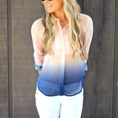 Young Morning Sky Blouse