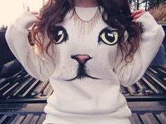 love the sweater purrfect