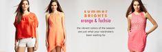 Summer Brights: Orange & Fuchsia