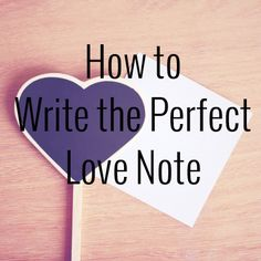 How fun would it be to write a love note for your spouse regularly. They would love the surprise and thought you put into it!