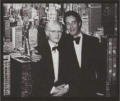 Andy Warhol and Halston