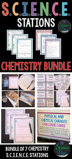 Building a periodic table and more earth science pinterest chemistry science stations bundle urtaz Image collections