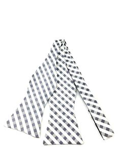 Check out our white with shades of dark and light grey self-tied bow tie. This one boasts a pretty awesome gingham checked pattern on a perfect palette texture of the colors, perfect for pairing with any style and outfit for any occasion. Ties Online, Grey Bow Tie, Formal Tie, Dark Grey, Gray, Looking Dapper, Gingham Check, Bowties, Wedding Men
