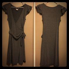 Gray Midi Dress Super comfy dress! Dresses Midi
