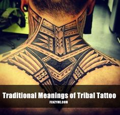 Top 50 Mind Blowing Tribal Tattoo Designs for Men