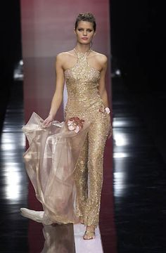 Elie Saab S/S 2002 Couture