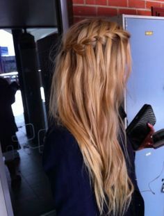 waterfall braid #braided