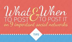 Are you looking for ways to improve your social media marketing strategy in 2015? Do you want to adapt your strategy to suit each network you market on? Social media networks aren't created equal s...