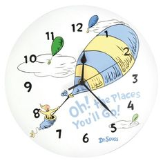 Dr Seuss Oh the Places Clock : Target