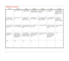 Elf on the Shelf-entire December Calendar all planned out! No thought necessary. brookiebefit.blogspot.com