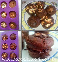 Esse bolo de chocolate Paleo Low Carb é o meu xodó! Foi eu que inventei e aprimorei bastante. Eu simplesmente adoro ele e o melhor, a família inteira gosta, me pede até para fazer de aniversário, fica super demais.