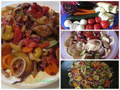 Sült zöldség, minden mehet bele tetszés szerint - MindenegybenBlog Minden, Chicken, Food, Essen, Meals, Yemek, Eten, Cubs
