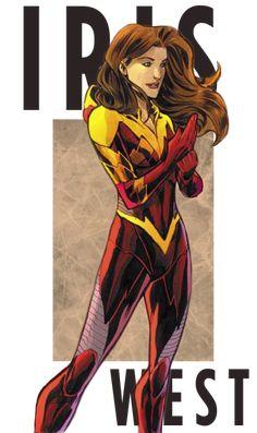 Iris West (Transparent)