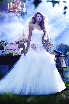Alfred Angelo's Sleeping Beauty Gown