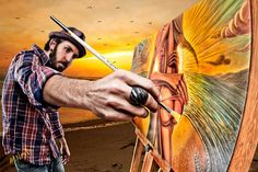 Jay Alders, surf artist