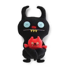 Uglydoll Ugly Buddies Ninja Batty Shogun Plush