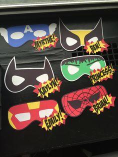 Super hero door decs! #reslife #RA #doordec More