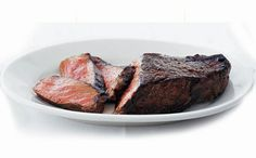 Ruth's Chris - New York Strip:  This USDA Prime cut has a full-bodied texture that is slightly firmer than a rib eye.