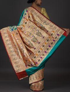 Meghana Broad Border Designer Pallu Wedding Paithani Silk Saree