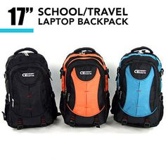 School & Travel Laptop Backpack | Buy Back To School