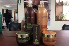 Macadamia y Argan Oil Kativa, shock capilar de hidratación y brillo