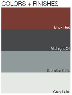 Color palettes that enhance traditional outdoor designs.  BenjaminMoore.com