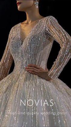 Wedding Dress Bustle, Fancy Wedding Dresses, Sheer Wedding Dress, Stunning Wedding Dresses, Luxury Wedding Dress, Princess Wedding Dresses, Elegant Dresses, Pretty Dresses, Jolie Lingerie