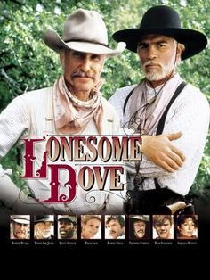 Lonesome Dove - Casey & I will curl up on the couch with junk food and spend all day watching this. Never a dry eye.