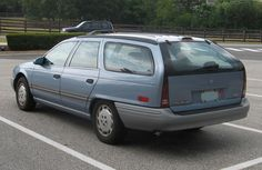 1995 Ford Taurus Wagon - ours was golden brown...it stopped on the Interstate, caught fire, and was a complete loss.