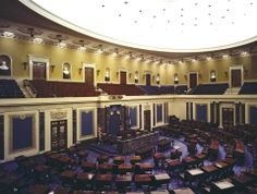 Senate Chamber, U.S. Capitol - I was here when the Clinton impeachment hearings were being held.