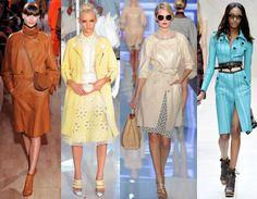 Женские плащи 2014 - красивая одежда в межсезонье