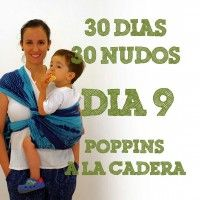 Día 9.- Nudo Poppins a la cadera #30dias30nudos