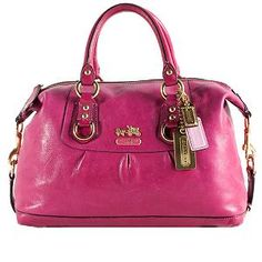 f3d306d0a67e Coach Madison Leather  Sabrina  Satchel Handbag  BBOSBrandBurst Coach  Handbags
