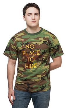 No Place to Hide Boba Fett Camo Tee - Exclusive