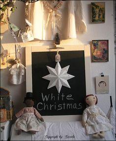 Boxwood Cottage: White Vintage Christmas inspiration 2011 part 1